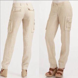 Michael Kors linen cargo pants